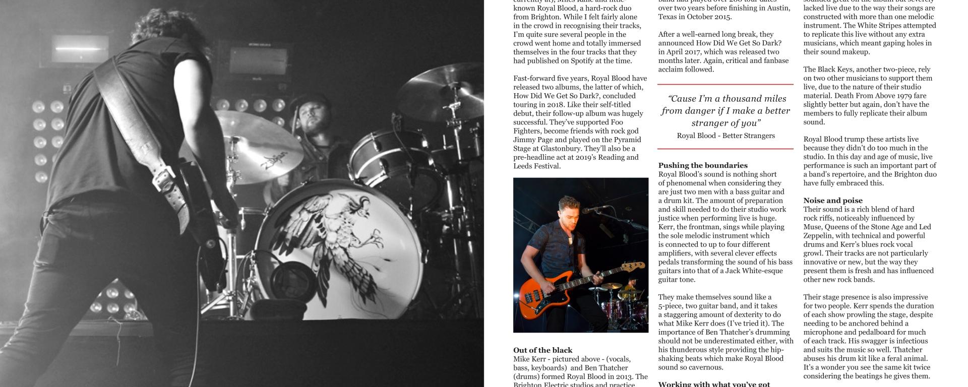 Artist Profile: Royal Blood – The Offbeat Music Blog